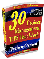 30 Project Management Tips That Work eBook cover