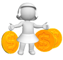 3D Women Coin 125 PM Opportunity of the Millennium: Lift 1 Billion People out of Poverty
